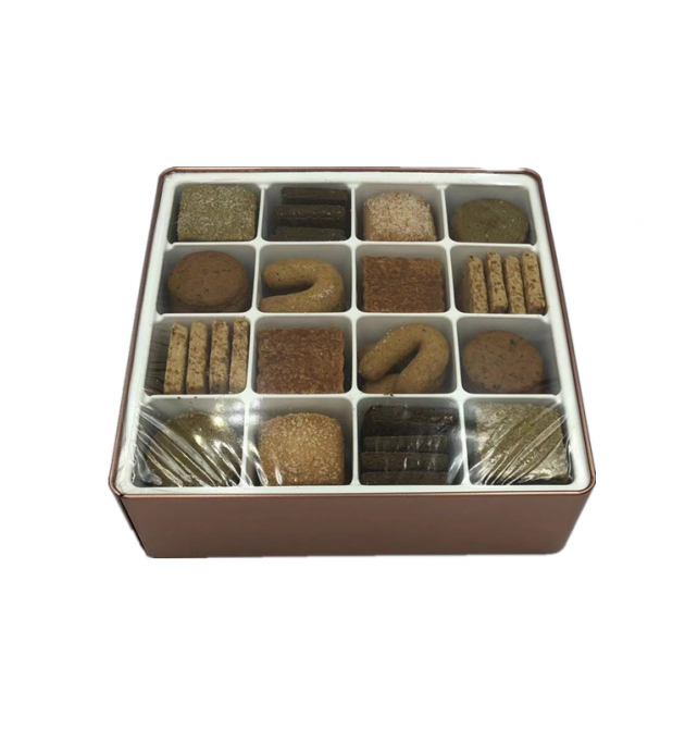 方形餅干盒(糖村款) 2