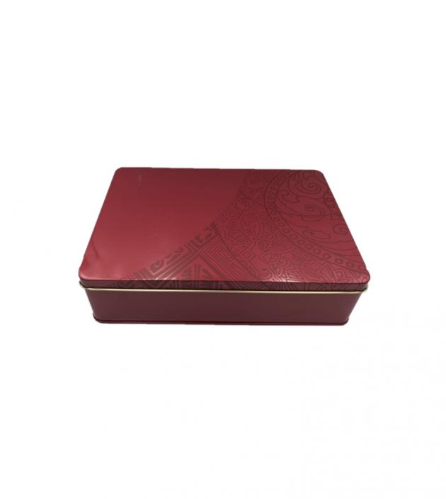 方形餅干盒(正官莊款) 1
