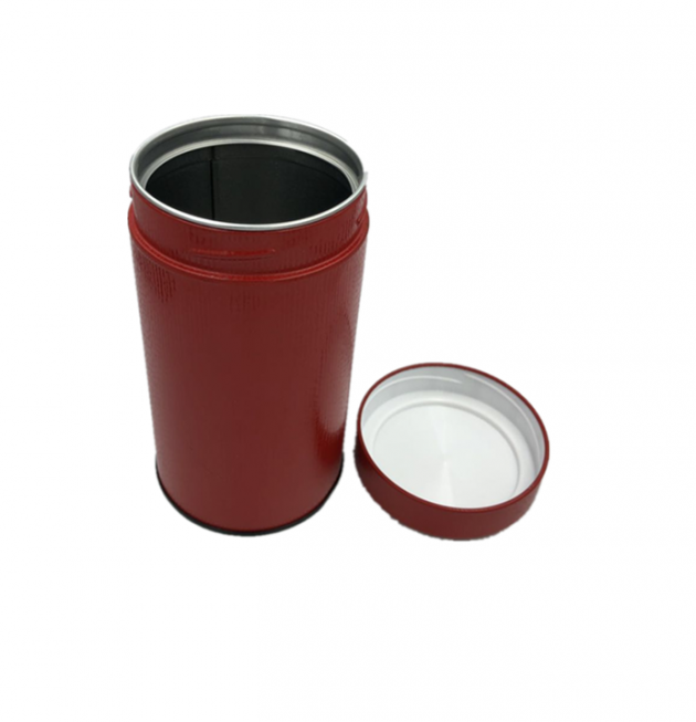圓形茶葉罐 2
